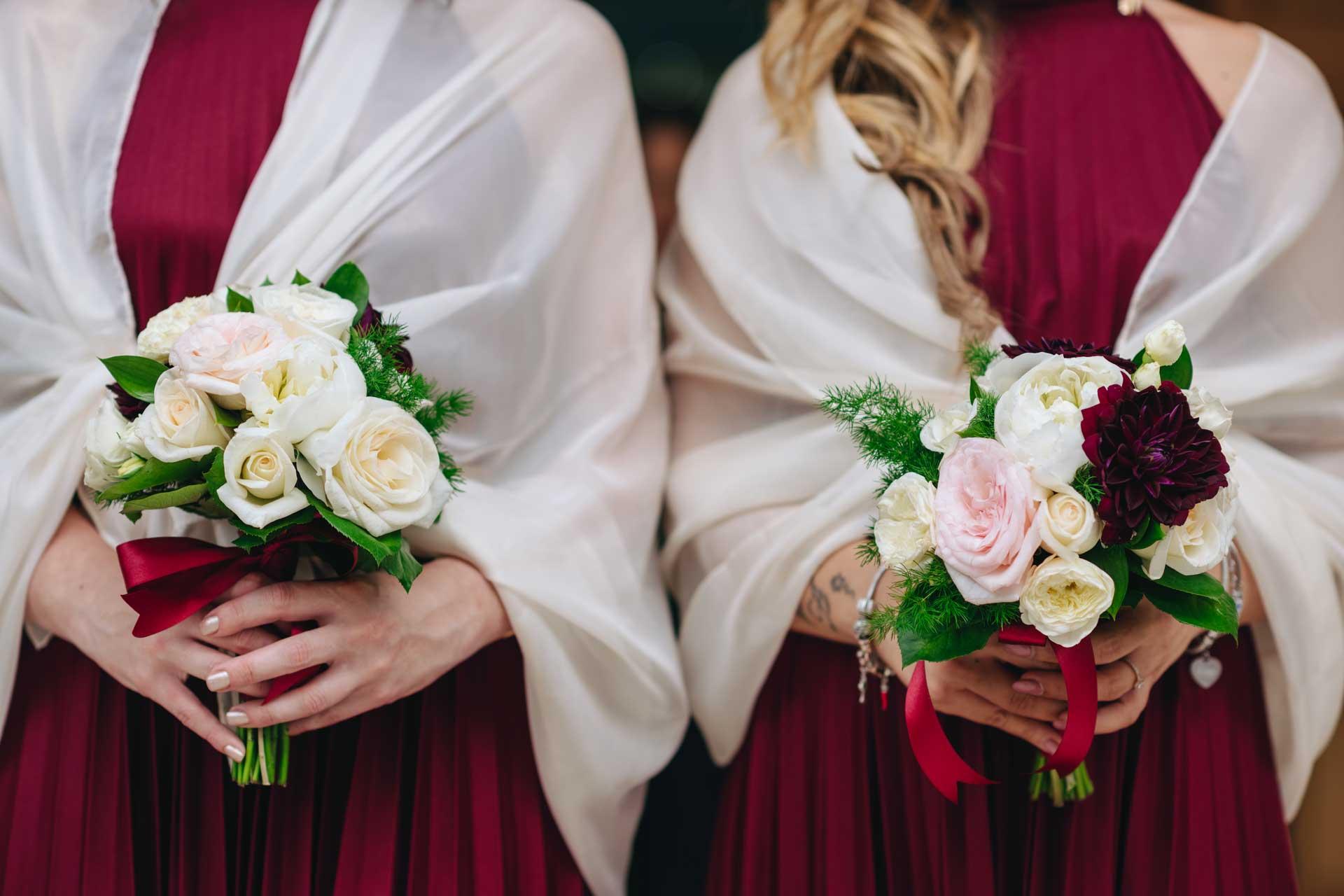 Il bordeaux: come utilizzarlo in un matrimonio estivo?